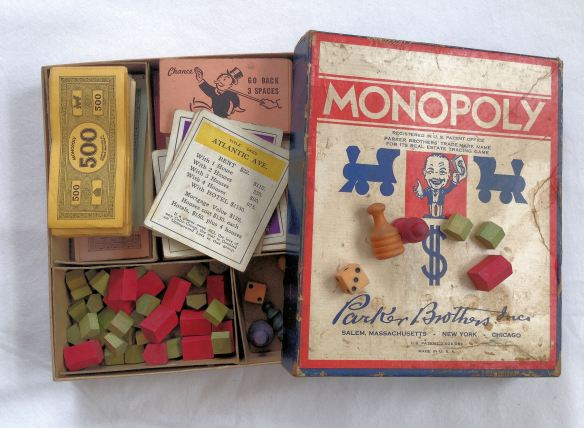 Actual World War II Vintage Monopoly Game!